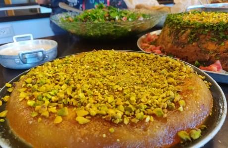 סדנה לבישול ערבי - שף סהר שושן